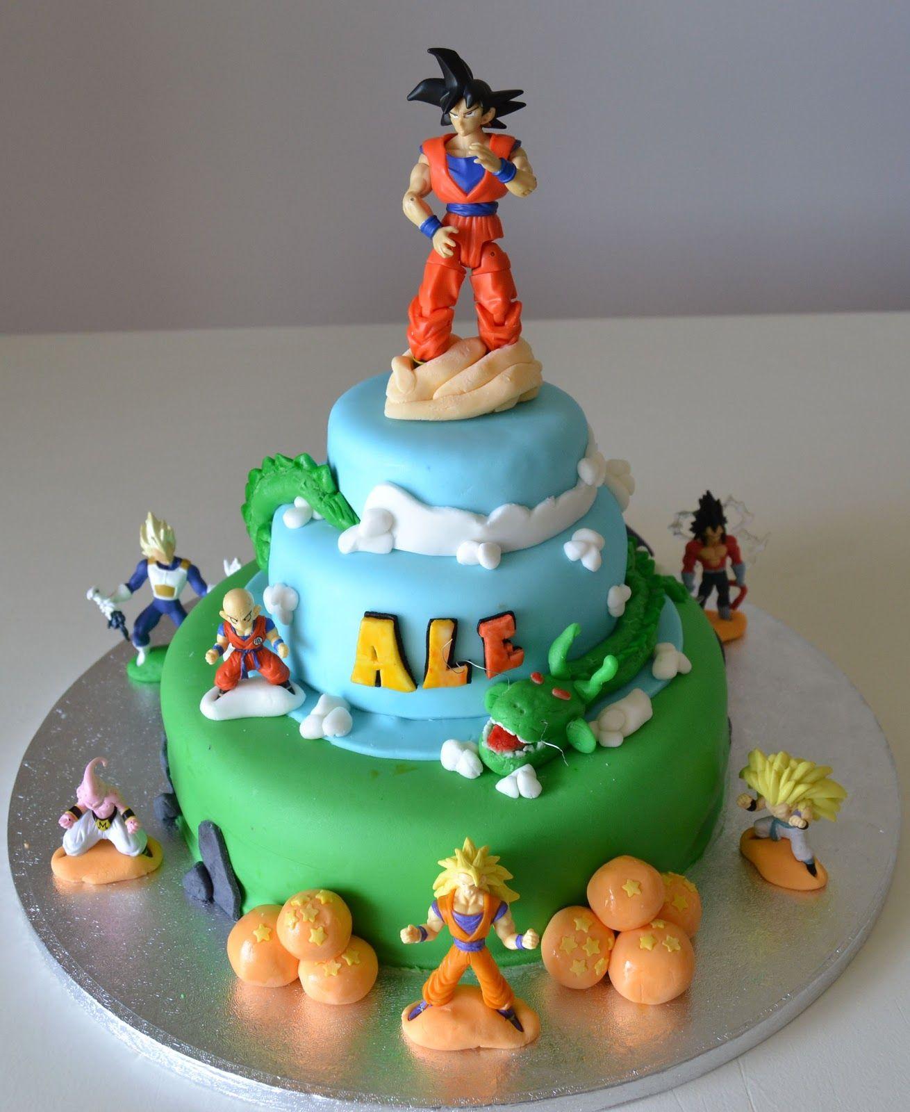 Delanas Cakes Dragon Ball Z Cake Dragon Ball Z Cakes Pinterest