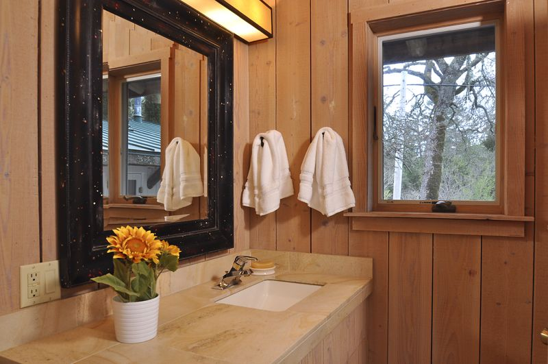 wood paneled bathroom walls, rustic. | Wood wall bathroom ...