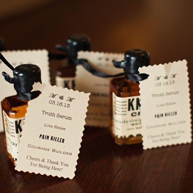 Wedding Gifts Website: Kentucky Whiskey Wedding Favors