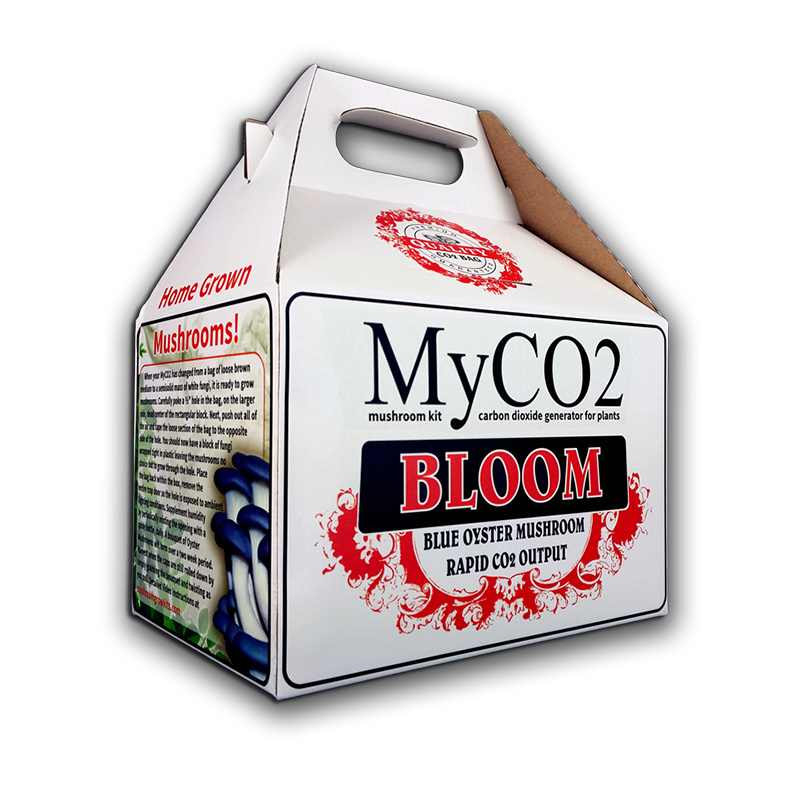 MyCO2 Mushroom Kit CO2 Bag is a revolutionary product - customer activated passive CO2 generator - Makes CO2 for plants and Oyster & Reishi mushrooms My CO2