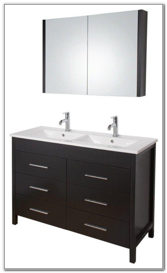 48 Inch Double Sink Vanity Ikea Bathroom Vanity Bathrooms