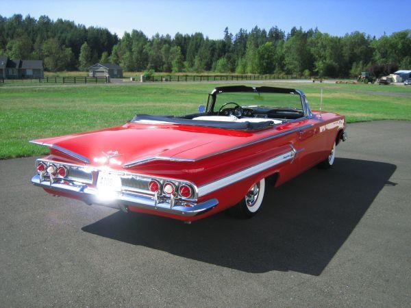 1960 Chevy 348 Chevrolet American Classic Cars Chevrolet Impala