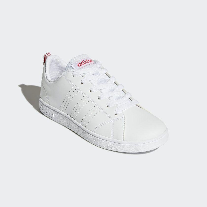 Ineficiente Metropolitano literalmente  VS Advantage Clean Shoes Cloud White / Cloud White / Super Pink BB9976 in  2020 | Adidas, Sneakers, Nike free shoes