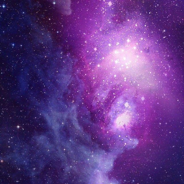purple galaxy aesthetic - 640×640