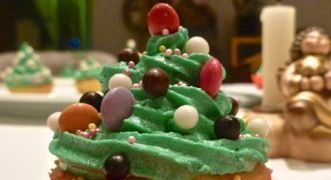 Christmas Cupcake #cupcake #natale #dolci #ricettenatale #menunatale #dolcinatale #ricettadolce #ricettedolci #dessert #ricettaoriginale