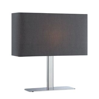 "<strong>Mercury Row</strong> 15"" Athanas Table Lamp with Rectangular Shade"