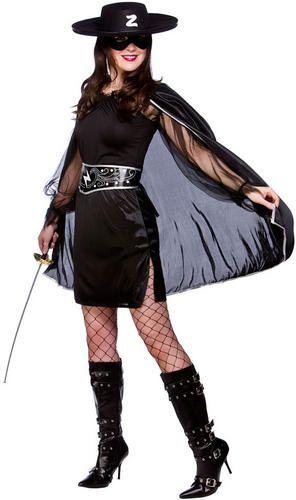 Mexican Bandit + Mask Fancy Dress Zorro Hero Kids Mens Ladies ...