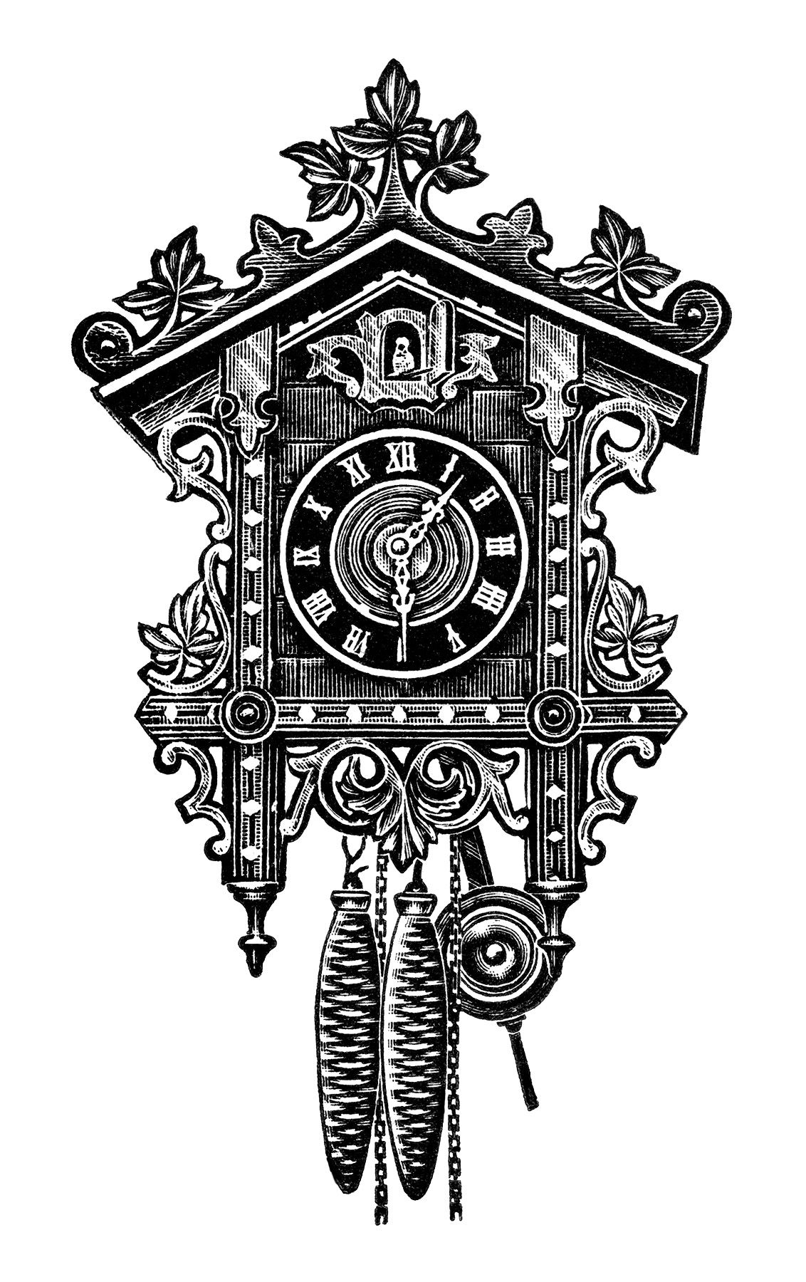 Pin By Cigronet On Vintg With Images Clock Drawings Clip Art