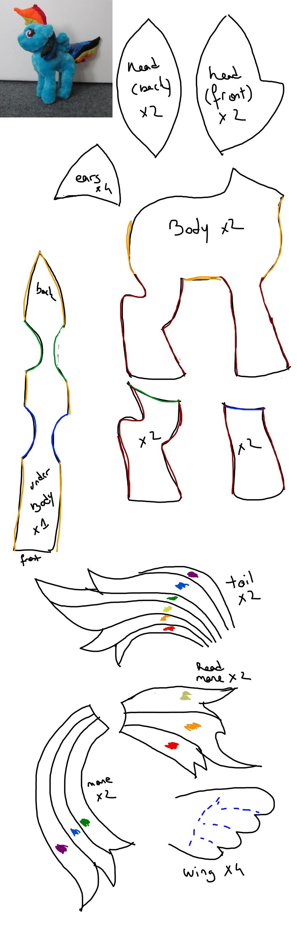 dash rainbow pattern by para-saurolophus on DeviantArt   templates ...