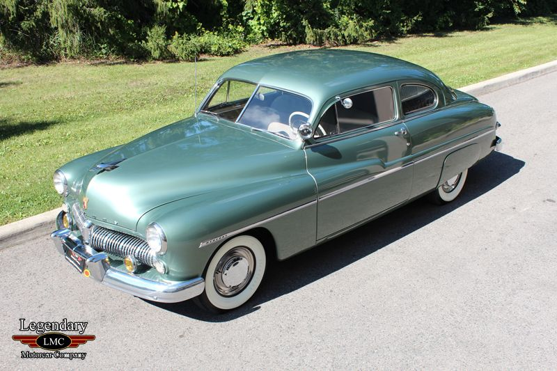 Click To Open 1949 Mercury Eight Coupe Survivor Gallery
