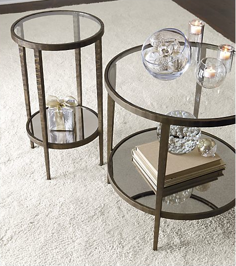 Superb End Tables From Crate And Barrell