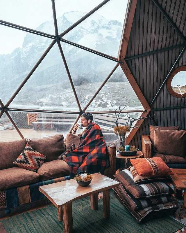 Dome Home Interior Design: Cosy Inside An Eco-Dome House In 2019