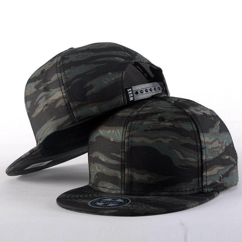 Camouflage-New-Gorras-Planas-Hip-Hop  762354a2b72