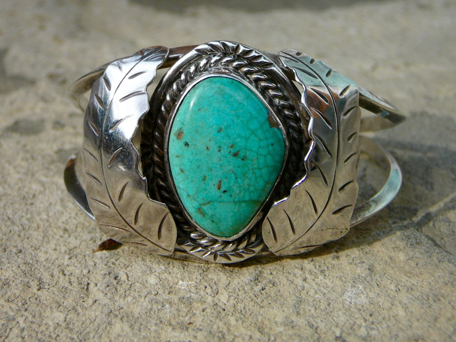 american ladies sterling br silver native bracelet navajo cuff turquoise
