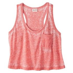 Coral crop top...for working out in style!