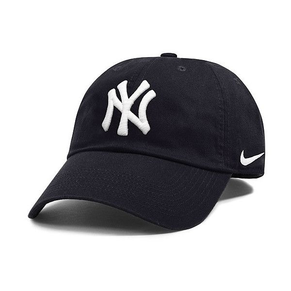 New York Yankees Women s Stadium 3.0 Adjustable Cap by Nike - MLB.com...  ( 24) ❤ liked on Polyvore featuring accessories f1f08b2106ee