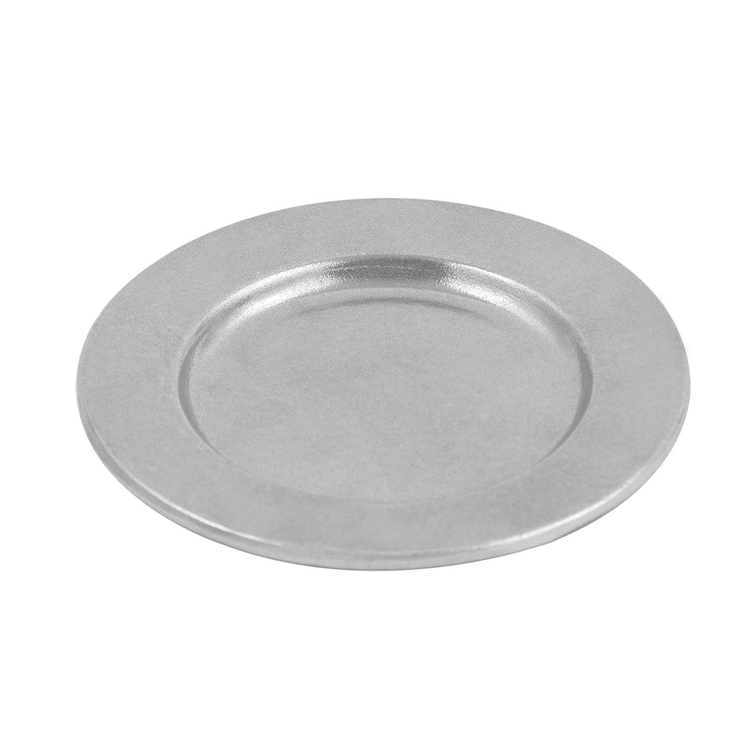 inch contemporary dinner plate pewter glo  ct  dinnerware  -   inch contemporary dinner plate pewter glo  ct