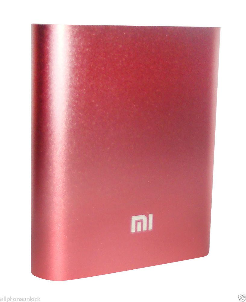 Original Xiaomi Brand Power Bank 10400MAH Power bank - Spark Pink with free TPU