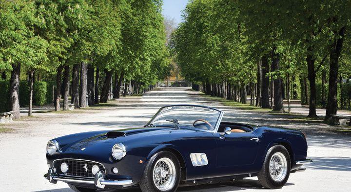 Ferrari 250 GT California met kort chis (SWB) | Sport Design ...