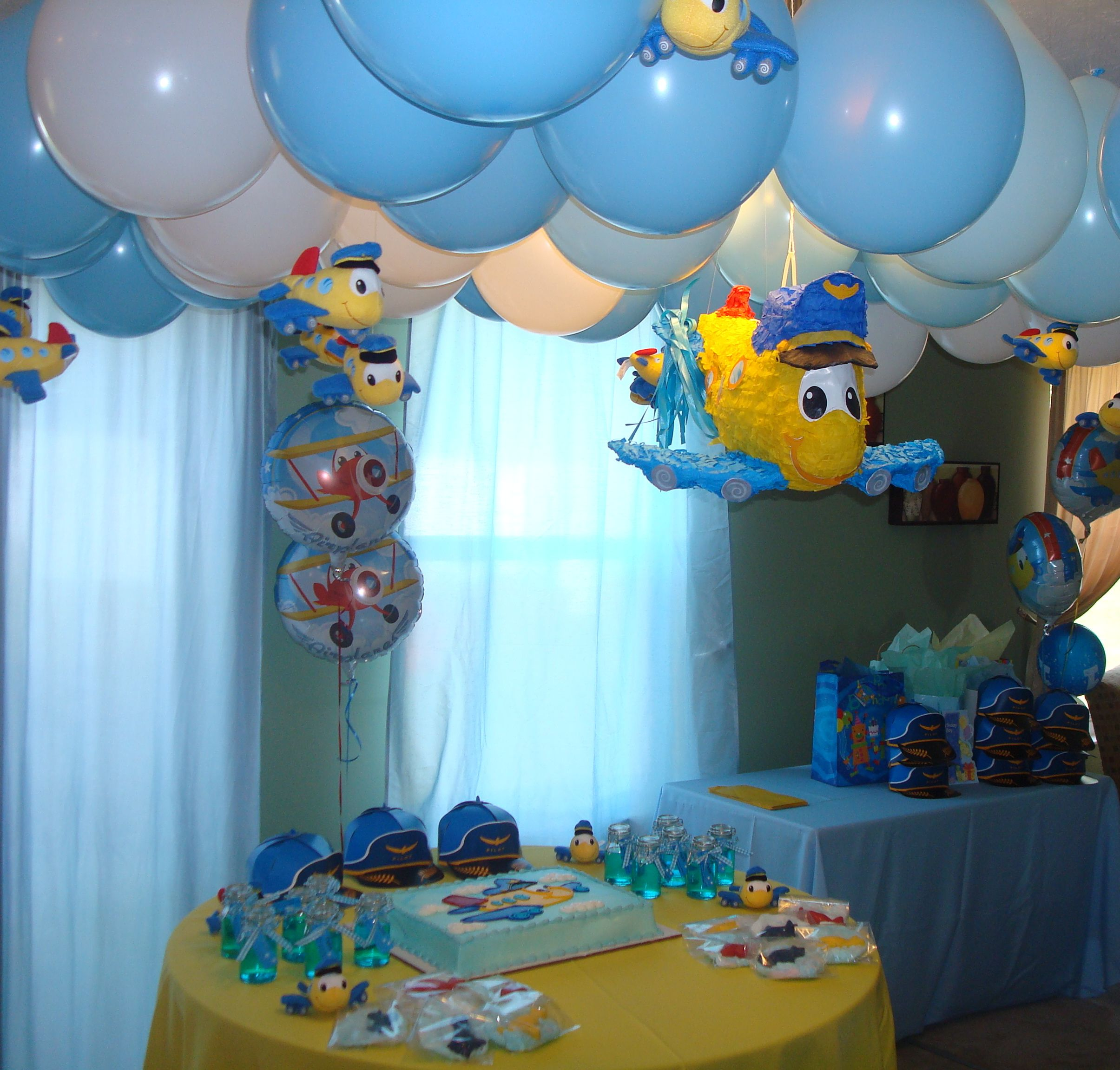 Airplane Birthday Party Get Ready For Takeoff: Airplane Theme Birthday Party.Create Your Own Sky Using