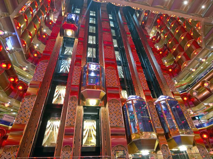 The Millennium Atrium Aboard The Carnival Freedom Features