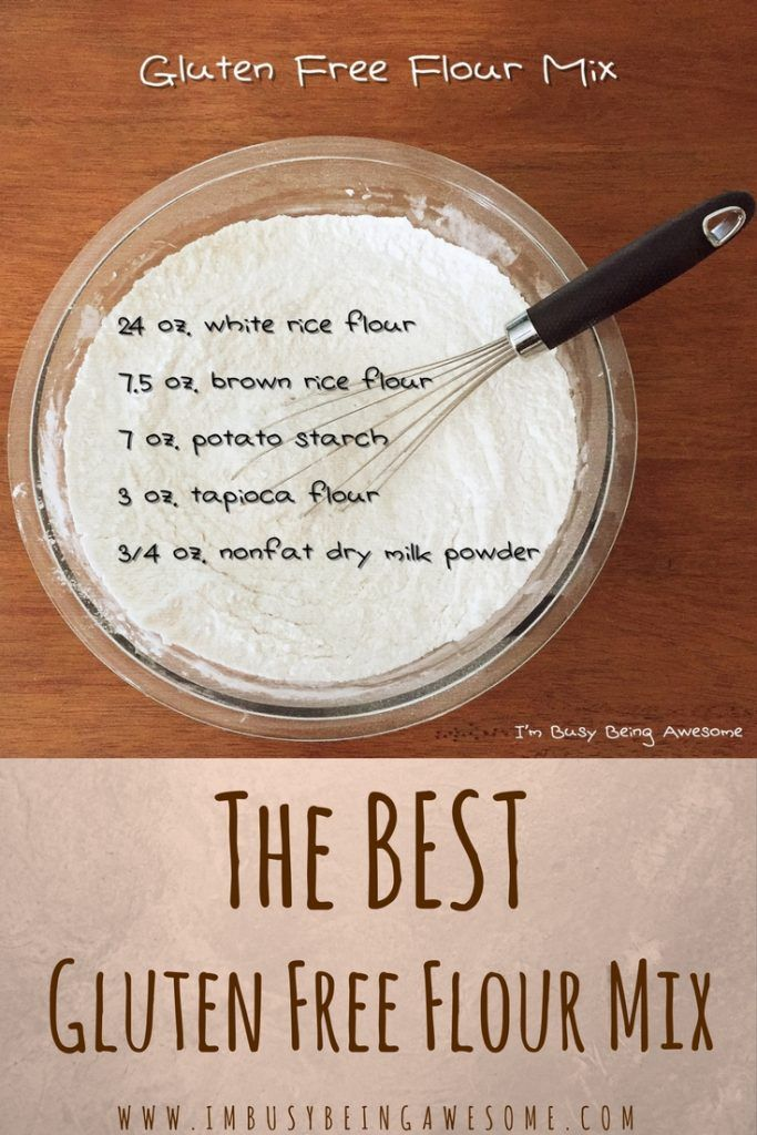 The Best Gluten Free Flour Mix – I'm Busy Being Awesome