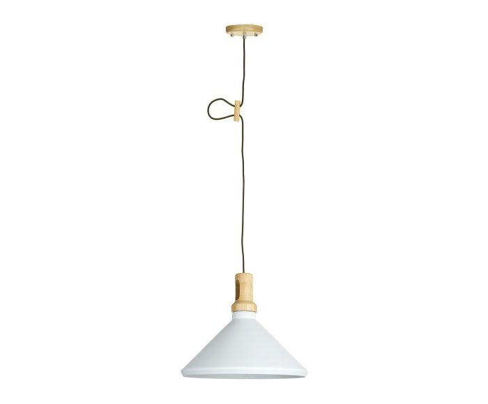 Lámpara de techo Susan - blanco y natural