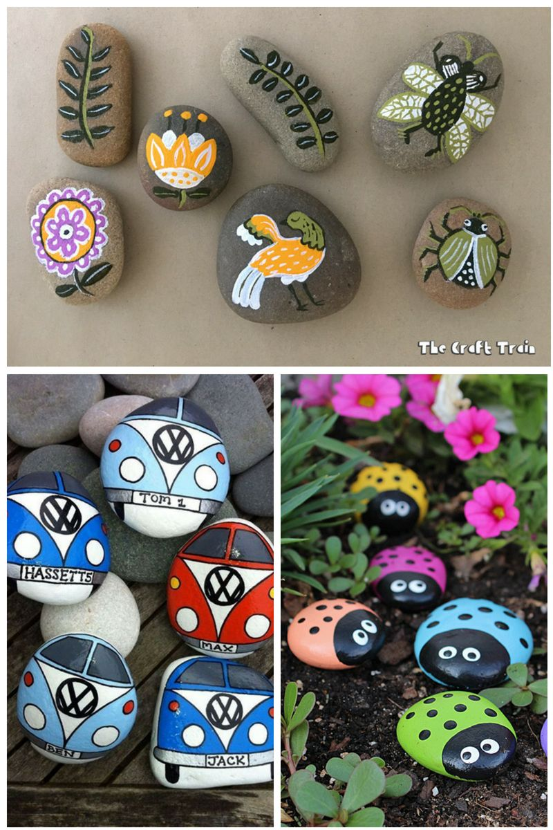 50 Super Fun And Creative Rock Painting Ideas Painted Rocks