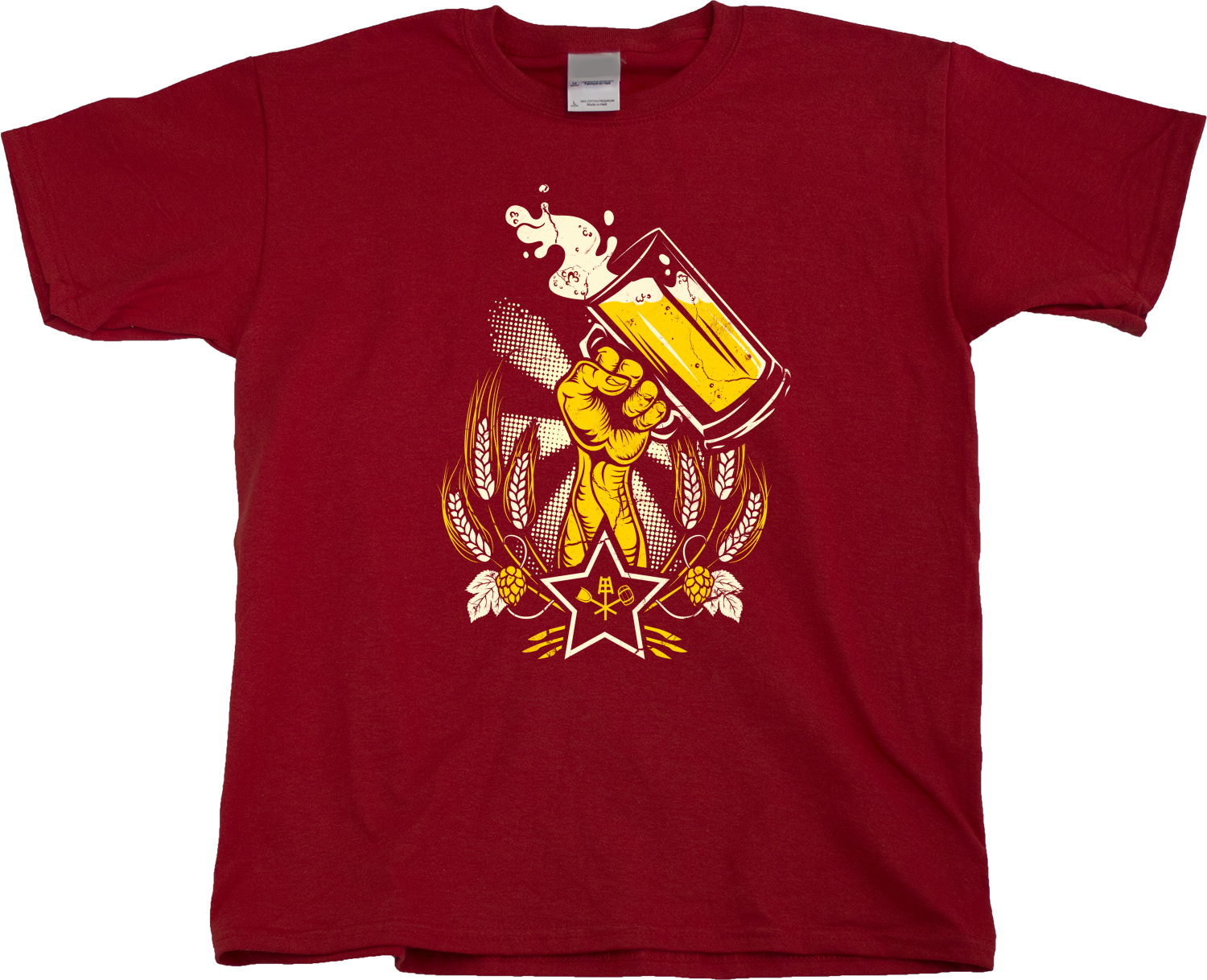 Epic Soviet Beer Print Homebrewer Home Brew - T-shirt design ...