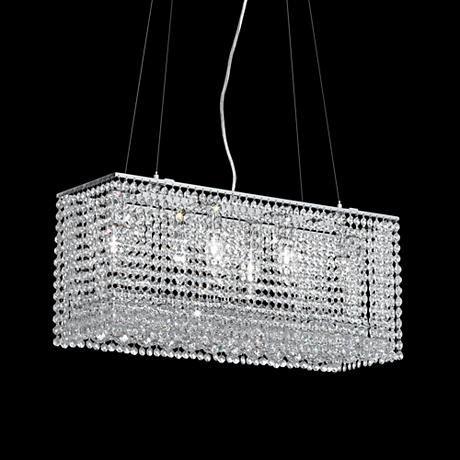James R Moder Vesta 6-Light Imperial Crystal Chandelier - moder