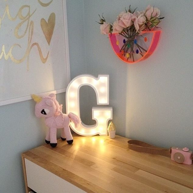 little letter light cos battery operated white letter lights