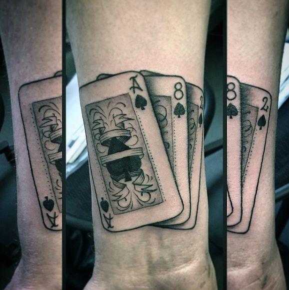 Photo of 90 Naipe Tatuajes Para los Hombres – Ideas de Diseño Lucky — Tatuajeclub.com