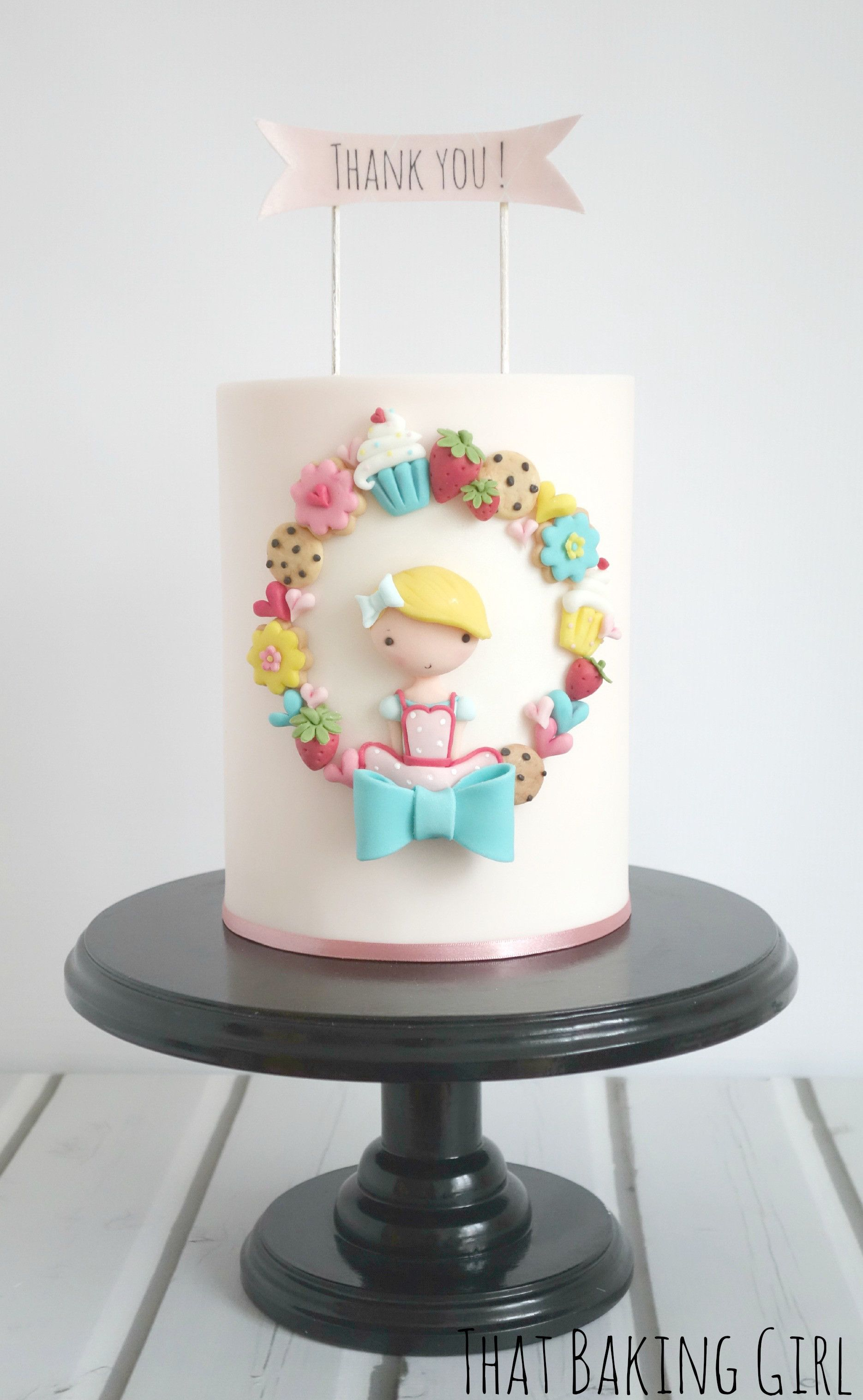 That Baking Girl Zrich Doll Birthday Cake Cute Cakes Fondant