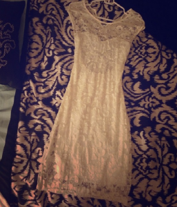 G Stage Lace Dress