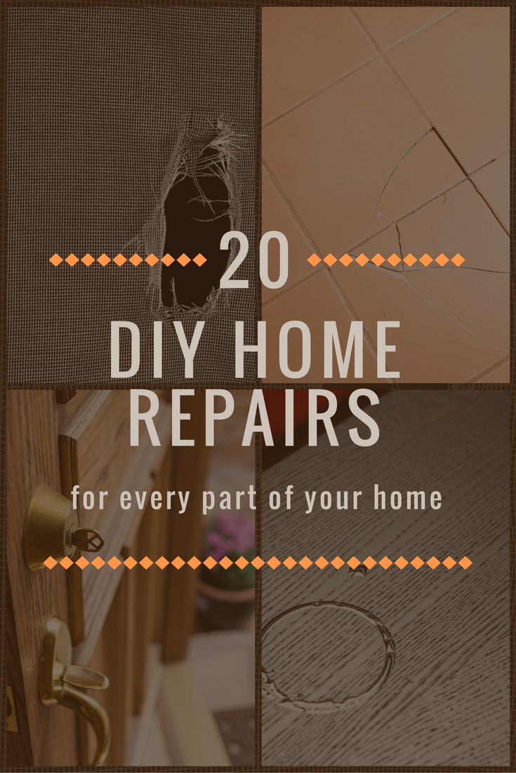 Here Are 20 Easy Home Maintenance Repairs That Every Homeowner Can Learn How To Handle
