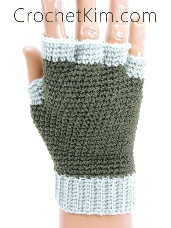 Crochet Fingerless Gloves Free Patterns | Guantes, Mitones y Tejido