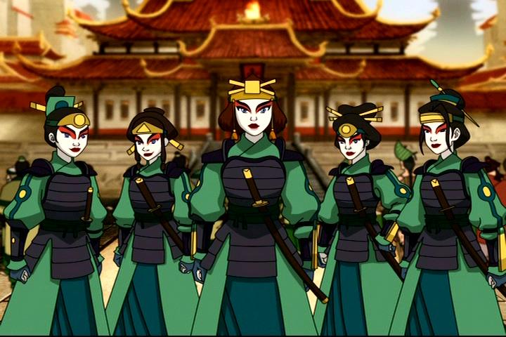 Afbeeldingsresultaat voor kyoshi warriors