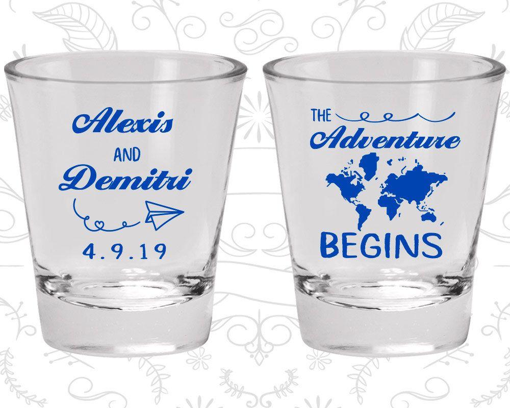 Shot Glass, Personalized Shot Glasses, Shot Glasses, Wedding Shot ...