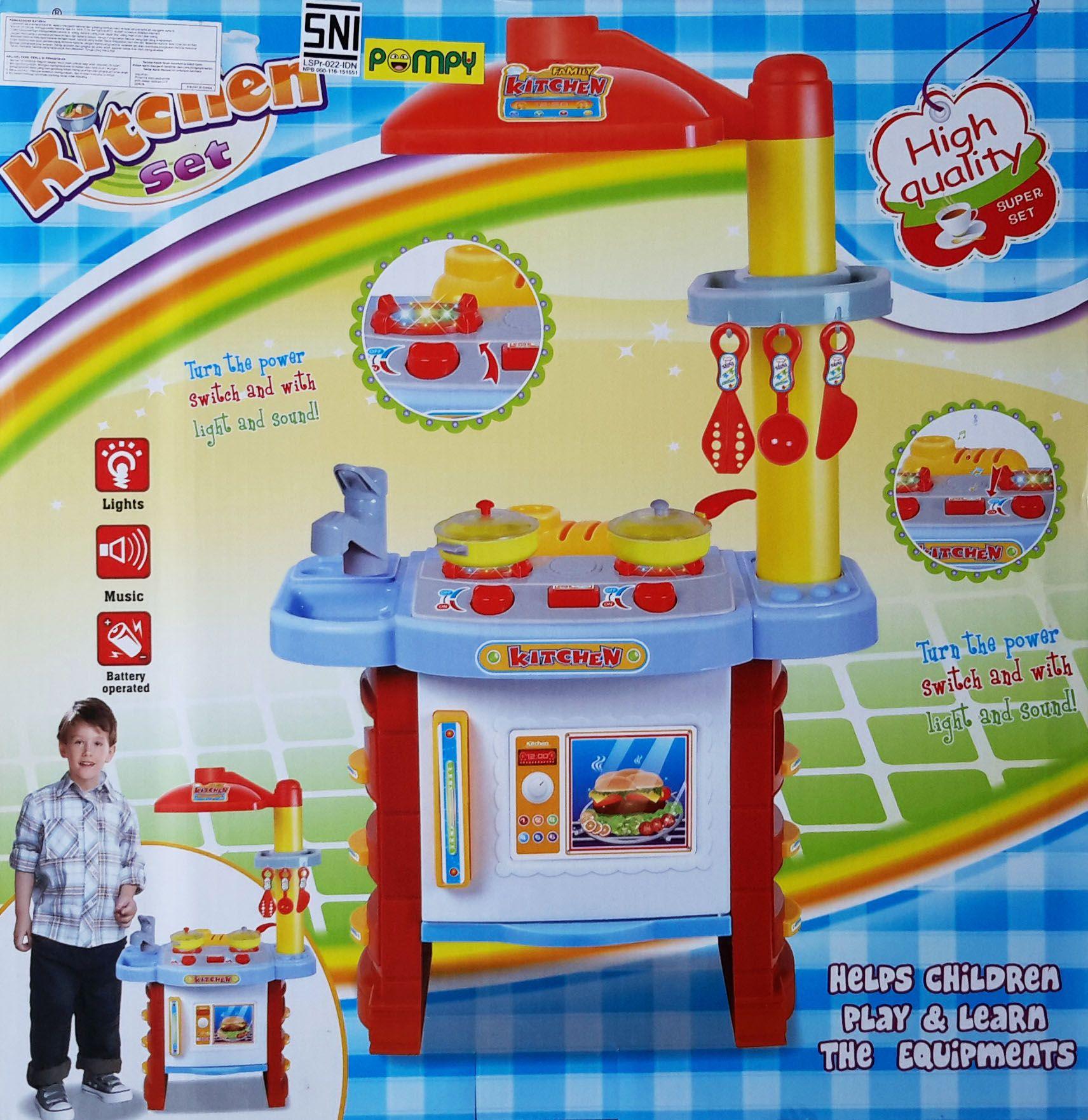 Jual Mainan Dapur Kitchen Set Anak Termurah Apakah Bunda Memiliki