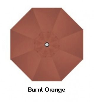 Treasure Garden 9u0027 Single Vent Replacement Canopy in Burnt Orange - umbrellas - patio -  sc 1 st  Pinterest & Treasure Garden 9u0027 Single Vent Replacement Canopy in Burnt Orange ...