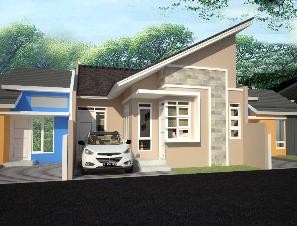 Desain Model Rumah Model Atap Miring