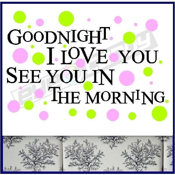 good night love you quotes