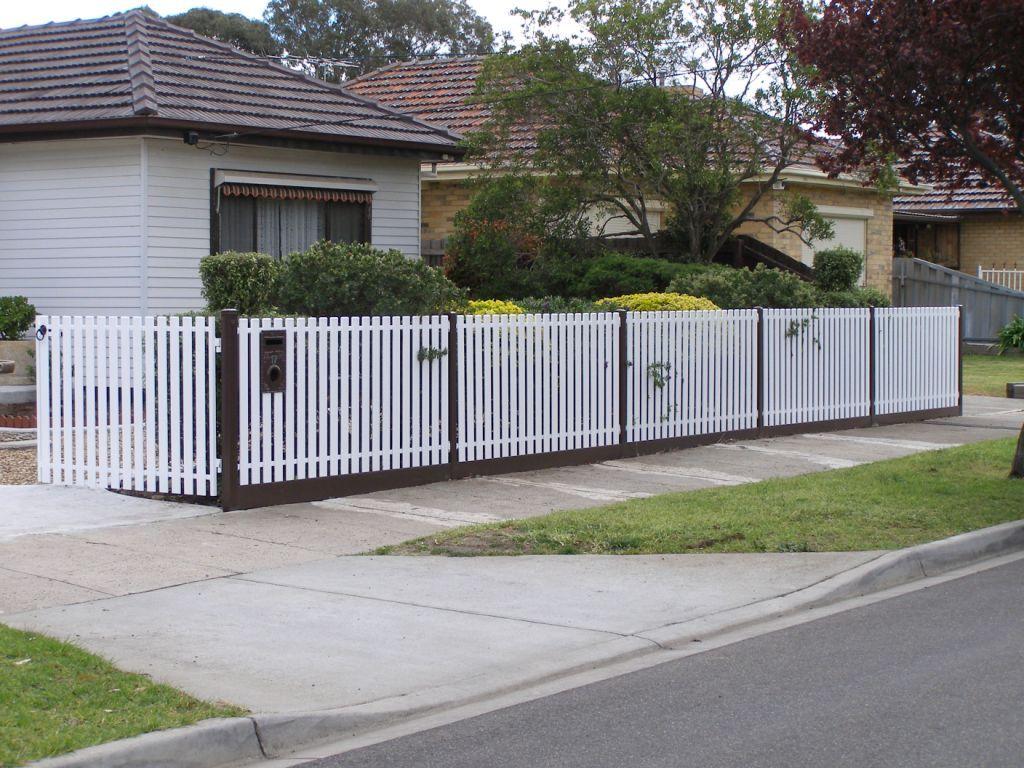 Nice Picket Fence Panels Yard Art Picket Fence Panels