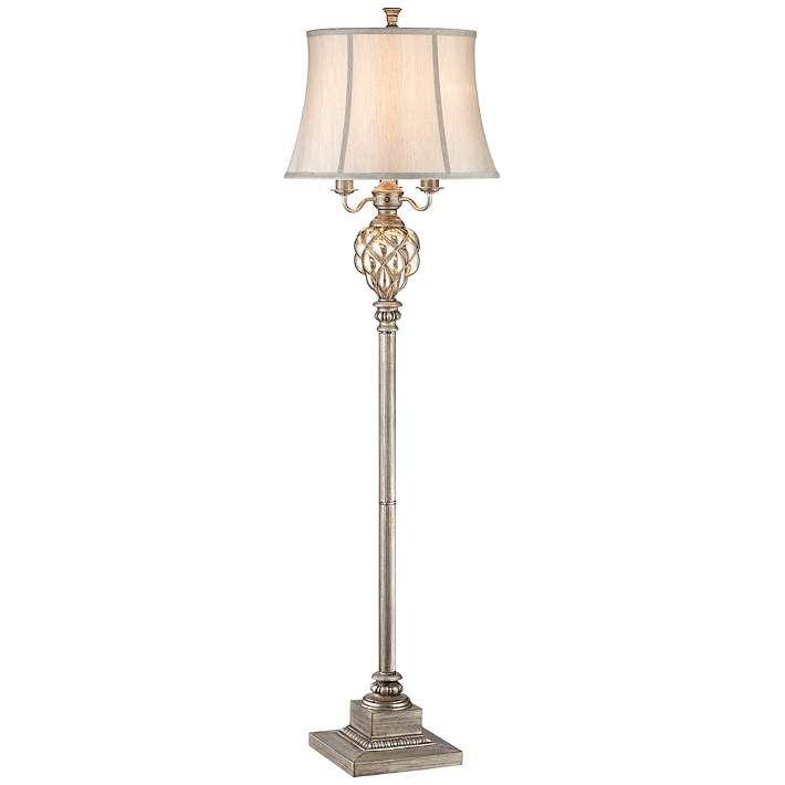 Olde 4 Light Floor Lamp With Led Night Light 3c563 Lamps Plus In 2020 Traditional Floor Lamps Floor Lamp Lamp