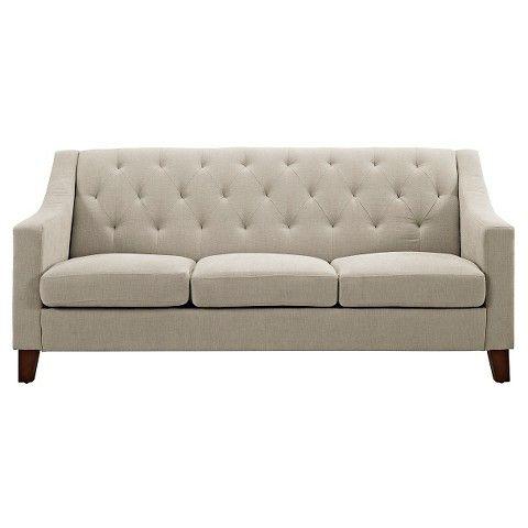 Tufted Upholstered Sofa, Tufted Back Sofa