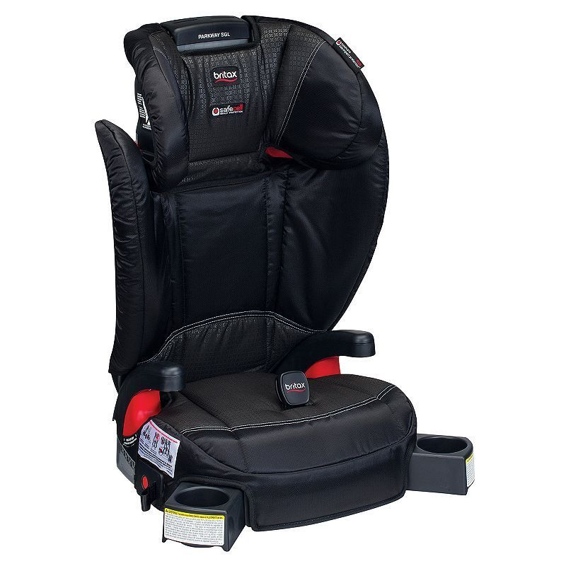 Britax Parkway SGL G11 Belt Positioning Booster Car Seat Black