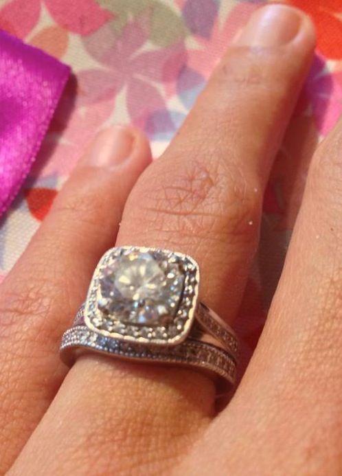 real ritani engagement rings masterworks cushion halo diamond v band engagement ring - Ritani Wedding Rings
