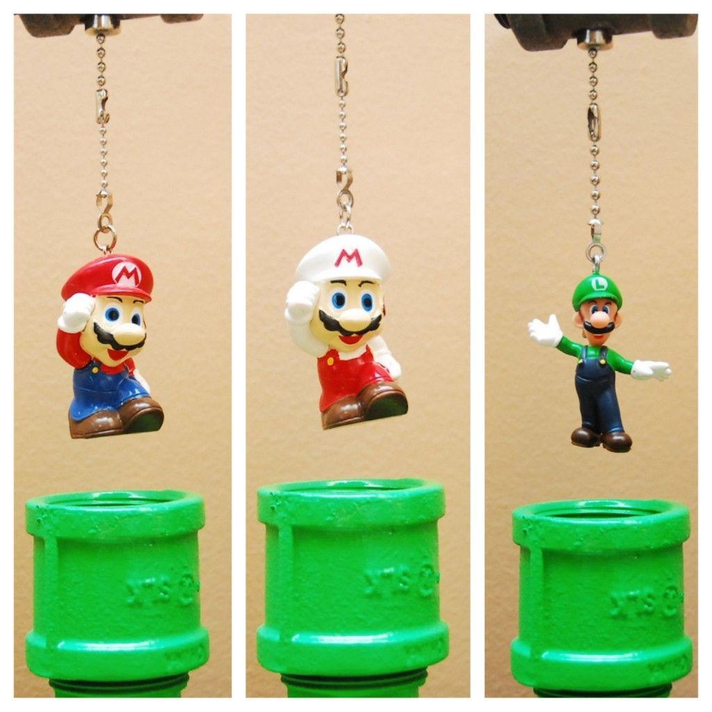 Super Mario Bros. Pipe Lamps | Geek Decor | Home Decor for Geeks ...