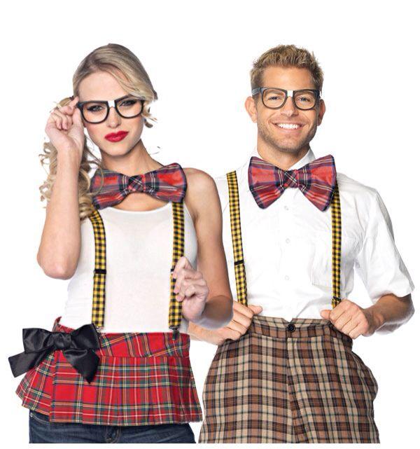 Nerd Ned Nerdy Adult Mens Total Geek Halloween School Funny Costume