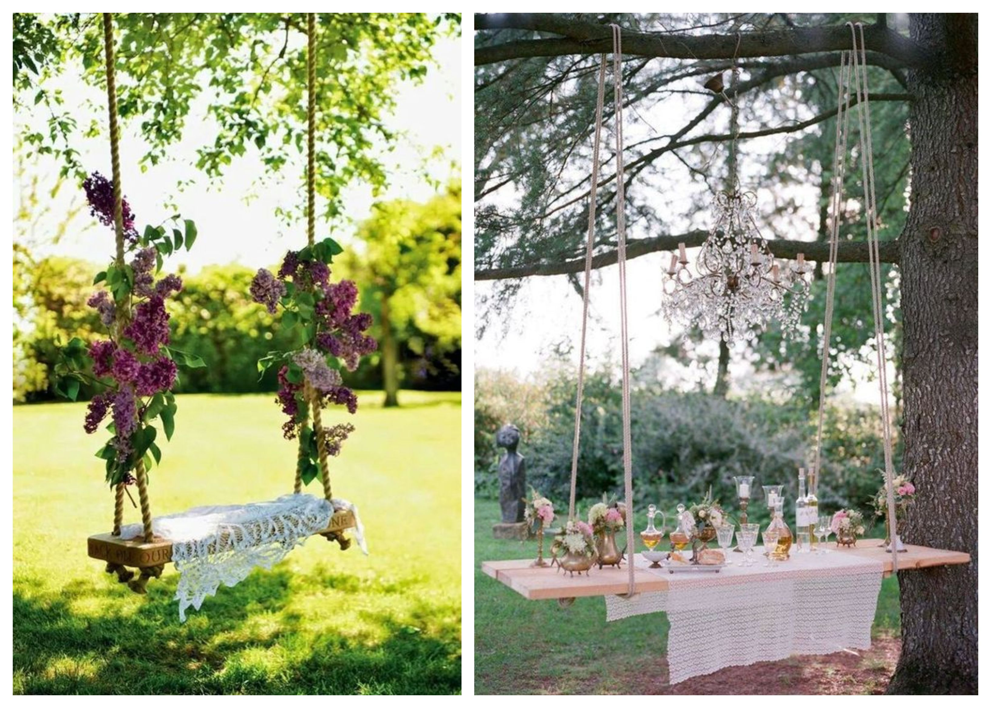 Upcycled Event Decor – Rope and Boards